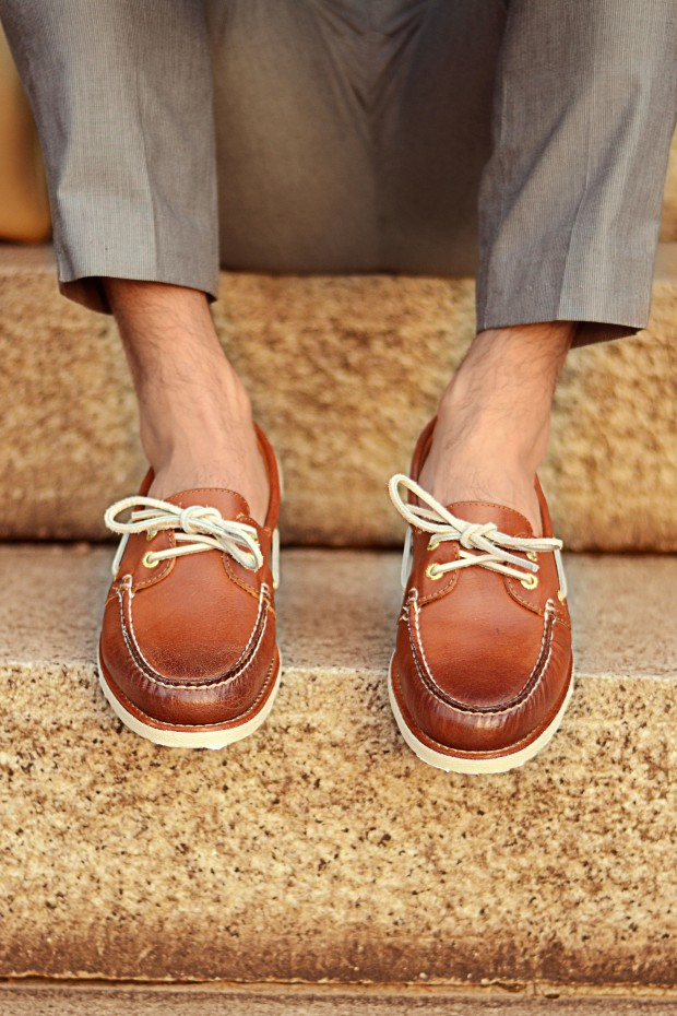 Sperry to sider Premium leather