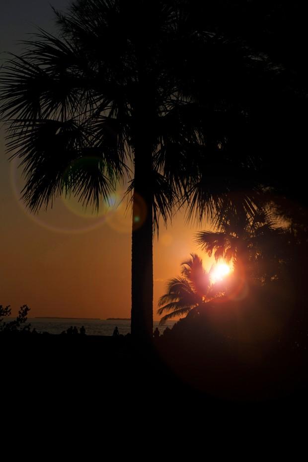Beautiful sunset Key West Florida