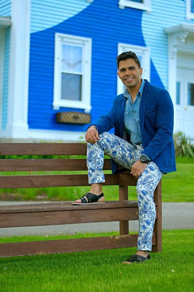 Men's Floral pants