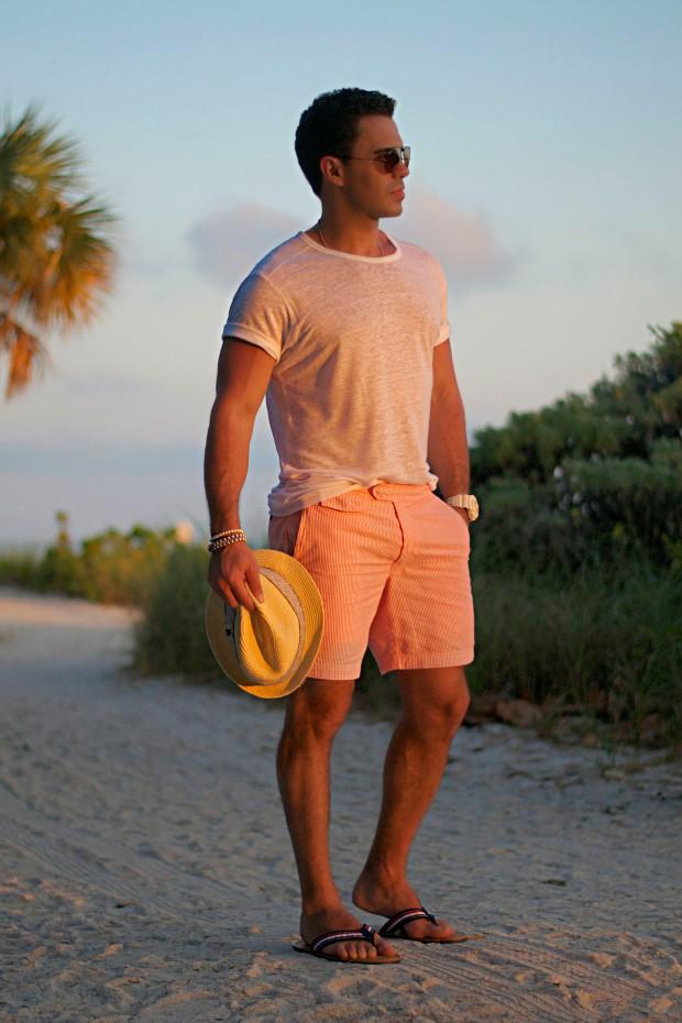 Moda masculina praia