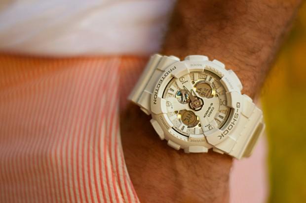 White G-Shock