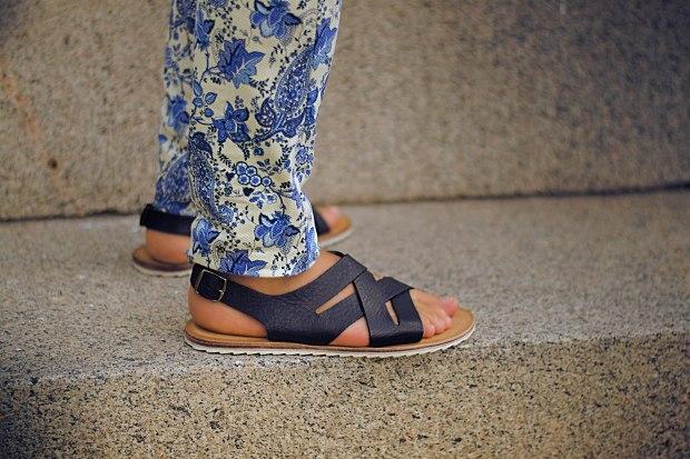 Zara men's sandals
