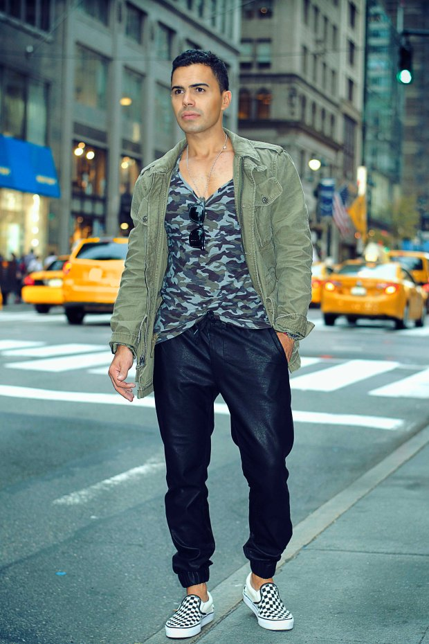 Men's fall outfit NYC